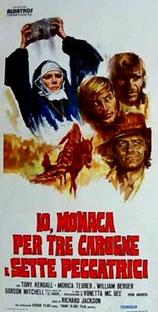 A Monja e as Sete Pecadoras - Poster / Capa / Cartaz - Oficial 1