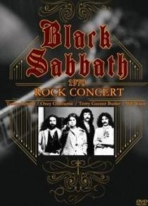 Black Sabbath - Rock Concert 1970 - Poster / Capa / Cartaz - Oficial 1
