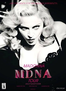 MDNA World Tour - Poster / Capa / Cartaz - Oficial 3