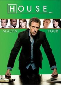 Dr. House (4ª Temporada) - Poster / Capa / Cartaz - Oficial 1