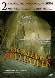 As Bicicletas de Belleville - Poster / Capa / Cartaz - Oficial 2