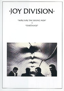 Joy Division – Here Are The Young Men + Substance - Poster / Capa / Cartaz - Oficial 1