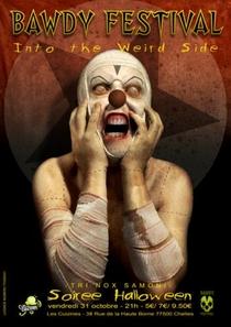 Bawdy Festival: Tri Nox Samoni - Into The Weird Side - Poster / Capa / Cartaz - Oficial 1