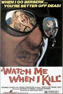 Watch Me When I Kill - Poster / Capa / Cartaz - Oficial 4