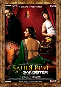 Saheb Biwi Aur Gangster - Poster / Capa / Cartaz - Oficial 2