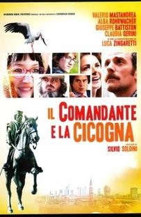 O comandante e a cegonha - Poster / Capa / Cartaz - Oficial 1
