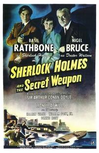 Sherlock Holmes e a Arma Secreta - Poster / Capa / Cartaz - Oficial 1
