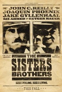 Os Irmãos Sisters - Poster / Capa / Cartaz - Oficial 3