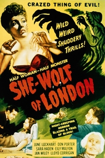 A Mulher-Lobo de Londres - Poster / Capa / Cartaz - Oficial 1