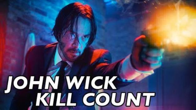 """A contagem de mortos de """"John Wick"""""""