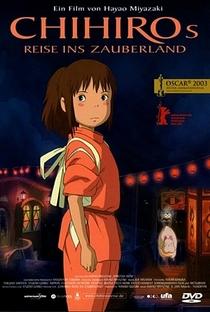 A Viagem de Chihiro - Poster / Capa / Cartaz - Oficial 26