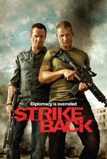 Strike Back (3ª temporada) - Poster / Capa / Cartaz - Oficial 1