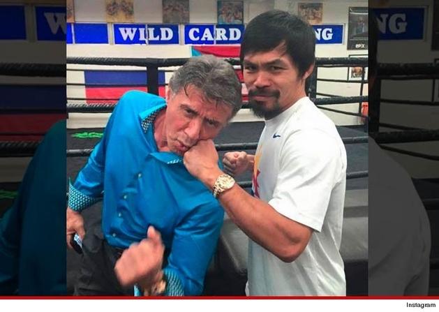 Stallone diz que nunca pôs Manny Pacquiao em Mercenários 4