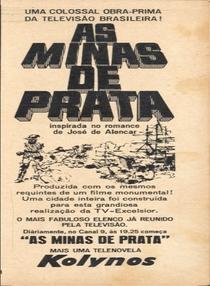 As Minas de Prata  - Poster / Capa / Cartaz - Oficial 1