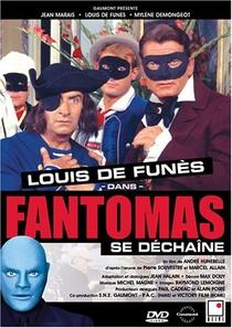 A Volta de Fantomas - Poster / Capa / Cartaz - Oficial 5