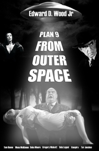 Plano 9 do Espaço Sideral - Poster / Capa / Cartaz - Oficial 3