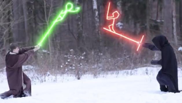Star Wars: curta mostra as consequências do novo sabre de luz