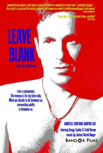 Leave Blank - Poster / Capa / Cartaz - Oficial 1