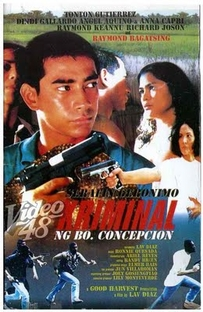 The Criminal of Barrio Concepcion - Poster / Capa / Cartaz - Oficial 1