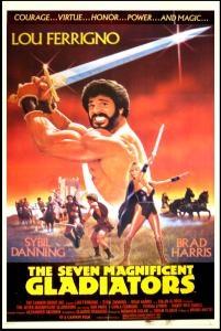 Os Sete Magníficos Gladiadores - Poster / Capa / Cartaz - Oficial 1