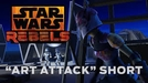 Star Wars Rebels - Art Attack (Star Wars Rebels - Art Attack)
