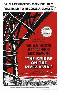 A Ponte do Rio Kwai - Poster / Capa / Cartaz - Oficial 6