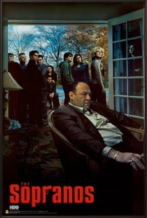 Família Soprano (6ª Temporada) - Poster / Capa / Cartaz - Oficial 1