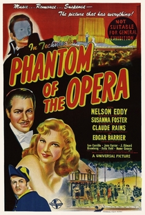 O Fantasma da Ópera - Poster / Capa / Cartaz - Oficial 7