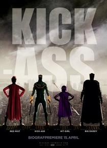 Kick-Ass - Quebrando Tudo - Poster / Capa / Cartaz - Oficial 2
