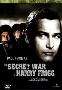 A Guerra Secreta de Harry Frigg - Poster / Capa / Cartaz - Oficial 1