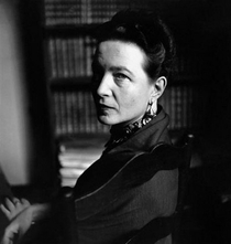Simone de Beauvoir - Poster / Capa / Cartaz - Oficial 1