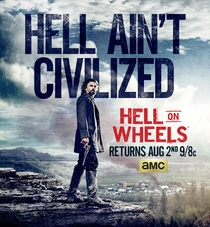 Hell on Wheels (4ª Temporada)  - Poster / Capa / Cartaz - Oficial 2