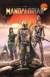 O Mandaloriano: Star Wars (1ª Temporada) - Poster / Capa / Cartaz - Oficial 2