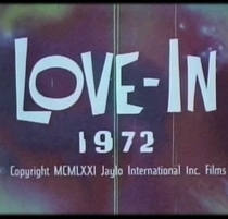 Love-In 1972 - Poster / Capa / Cartaz - Oficial 1