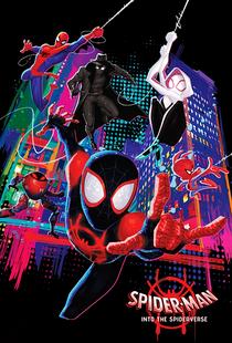 Homem-Aranha no Aranhaverso - Poster / Capa / Cartaz - Oficial 2
