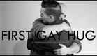 First Gay Hug (A Homophobic Experiment) | First Kiss Video