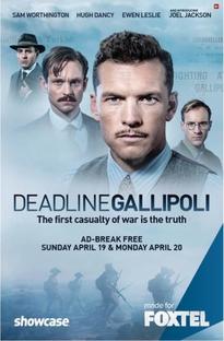 Deadline Gallipoli - Poster / Capa / Cartaz - Oficial 3
