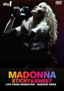 Madonna: Sticky & Sweet Tour - Poster / Capa / Cartaz - Oficial 3