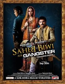 Saheb Biwi Aur Gangster - Poster / Capa / Cartaz - Oficial 7