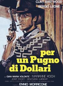 Por um Punhado de Dólares - Poster / Capa / Cartaz - Oficial 1