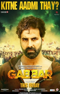 Gabbar is Back - Poster / Capa / Cartaz - Oficial 5