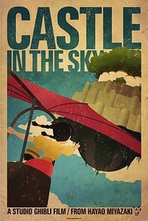 O Castelo no Céu - Poster / Capa / Cartaz - Oficial 12