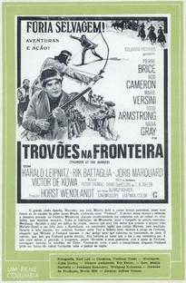 Trovões na Fronteira - Poster / Capa / Cartaz - Oficial 3