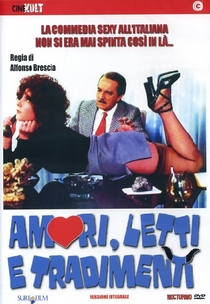 Amori, Letti e Tradimenti - Poster / Capa / Cartaz - Oficial 2