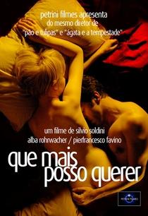 Que Mais Posso Querer - Poster / Capa / Cartaz - Oficial 1