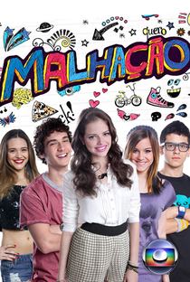 Malhação (20ª Temporada) Intensa como a Vida - Poster / Capa / Cartaz - Oficial 4