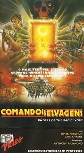 Comandos Selvagens - Poster / Capa / Cartaz - Oficial 1