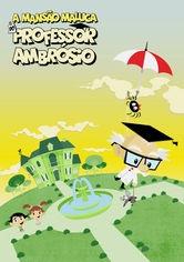 A Mansão Maluca do Professor Ambrósio - Poster / Capa / Cartaz - Oficial 1