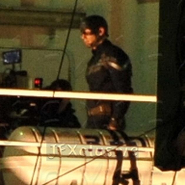 Confira as primeiras imagens do set de Capitão América: O Retorno do Primeiro Vingador!