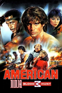 American Ninja 3: O Dragão Americano - Poster / Capa / Cartaz - Oficial 7
